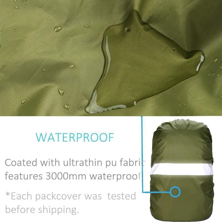 Navlaka za kišu za ruksak reflektirajuća 20L 35L 40L 50L 60L - Kampiranje i planinarenje - Foto 3