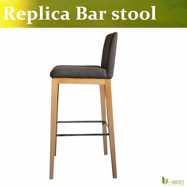 Free shipping U-BEST Kitchen & Dining Furniture wooden barstool with a foot rest ,Counter Bar Stools and Counter Chairs free shipping u best kitchen