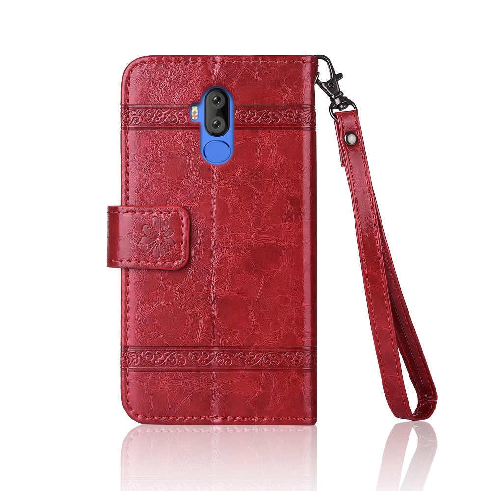 جراب مع حزام فاخر محفظة من الجلد مع جيب للبطاقات حقيبة للهاتف المحمول كوكيه لفيرني X2 M3 M6 M8 T3 Pro X1