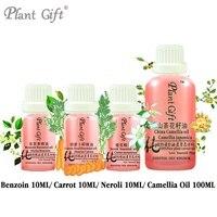 Free Shopping 100 Pure Plant Essential Oils Benzoin Carrot Neroli Camellia Oil Vietnam Imports Restore Elasticity