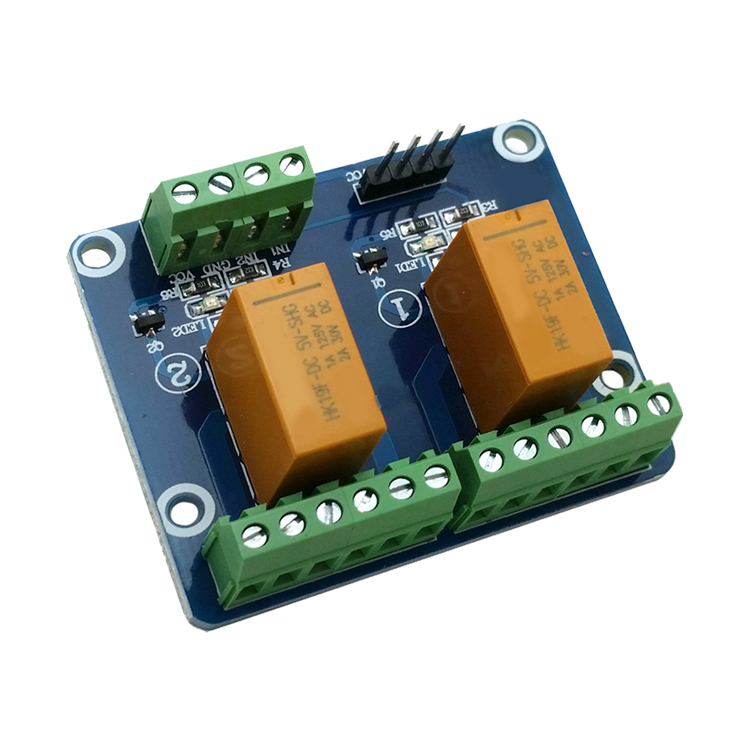 2 way dual signal relay module 12V low level trigger 1A current signal control signal electric relay unit high liquid water level controller sensor relay module detection 9 12v control high current relay