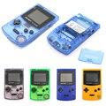 GB Junge Farbe Farbe Handheld-Spiel-Spieler 2,7 Tragbare Klassische Spiel Konsole Konsolen Mit Backlit 66 Eingebauten Spiel pad