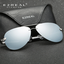 Polarized Driving Rimless Sun Glases For Women and Male