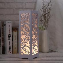 Настольная лампа современный простой Сияющий облака креативный полый резной светильник для спальни ночник Настольный светильник прикроватный светильник с американской вилкой