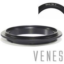 Venes 58mm Nik Z lente Macro anillo adaptador inverso para cámara Nikon Z