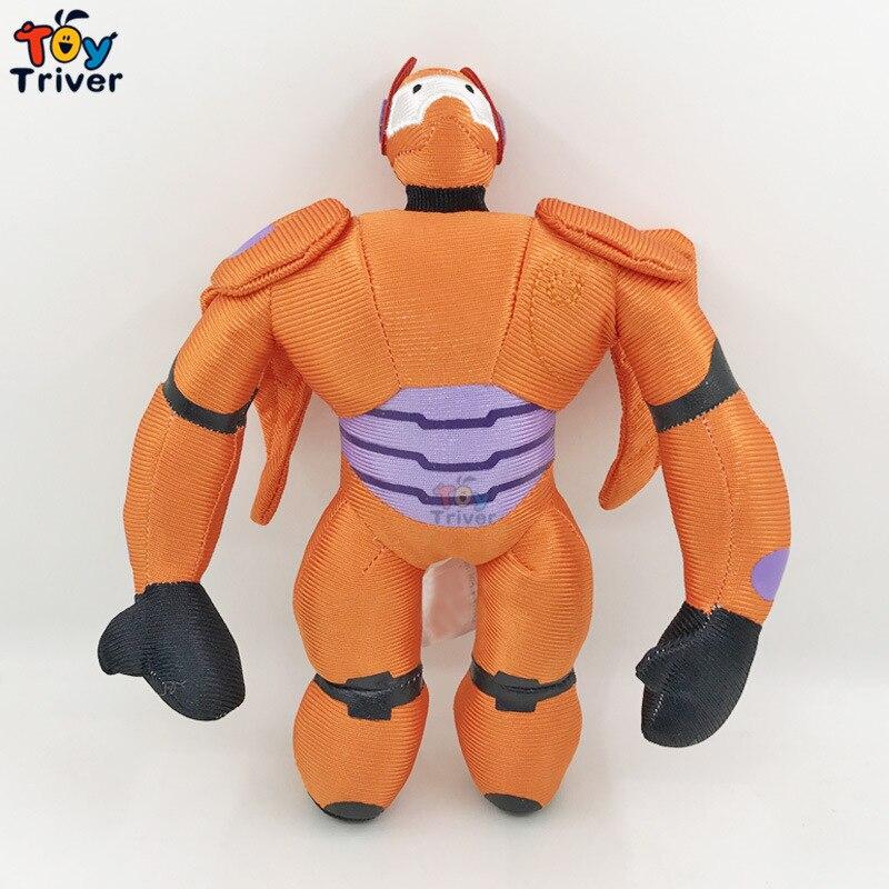Kawaii Robot Iron Man Big Hero Plush Toy Stuffed Doll Baby Boy Boys Kids Children Boys Male Birthday Gift Games Toys Plushie