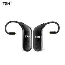TRN BT20 Bluetooth 5.0 Earphone Cable Ear Hook Headphones Headset Adapter MMCX 2PIN Interface For KZ ZS10/AS10/BA10 SE535 UE900