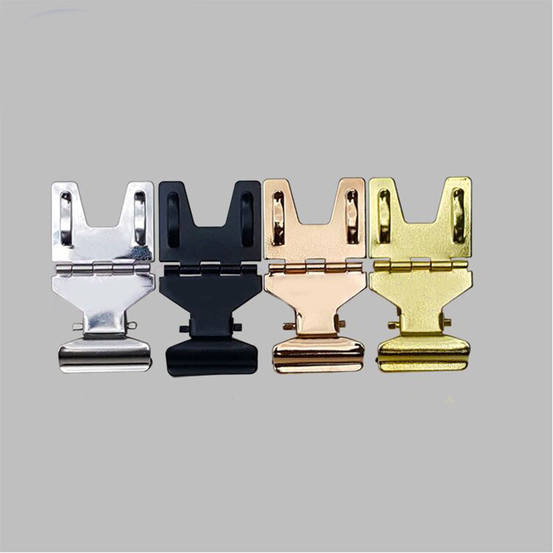 (50/100pcs) 4 Colors POP Metal Stainless Steel Price Tag Paper Sign Card Display Clips Holders H54mm For Retail Shop Promotions clear acrylic a3a4a5a6 sign display paper card label advertising holders horizontal t stands by magnet sucked on desktop 2pcs