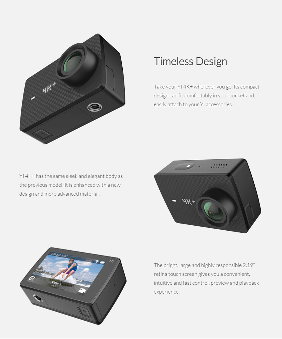 XIAOYI YI 4K+ ACTION SPORTS CAMERA 12