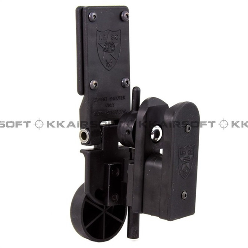 Tactique gun holster IPSC Airsoft Pistol Holster v2 (Noir)