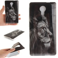 WIKO Robby cases and covers Silicon Back Cover Soft Coque Cartoon Printed Phone Cases for WIKO ROBBY