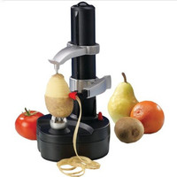 Portable Electric spiral Apple Peeler Cutter pear potato peeler with EU plug Fruit & Vegetable Tools Kitchen Accessories