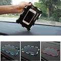 Anti Slip pad Rubber Mobile Phone Mat 3D stick car accessories For Mitsubishi Outlander