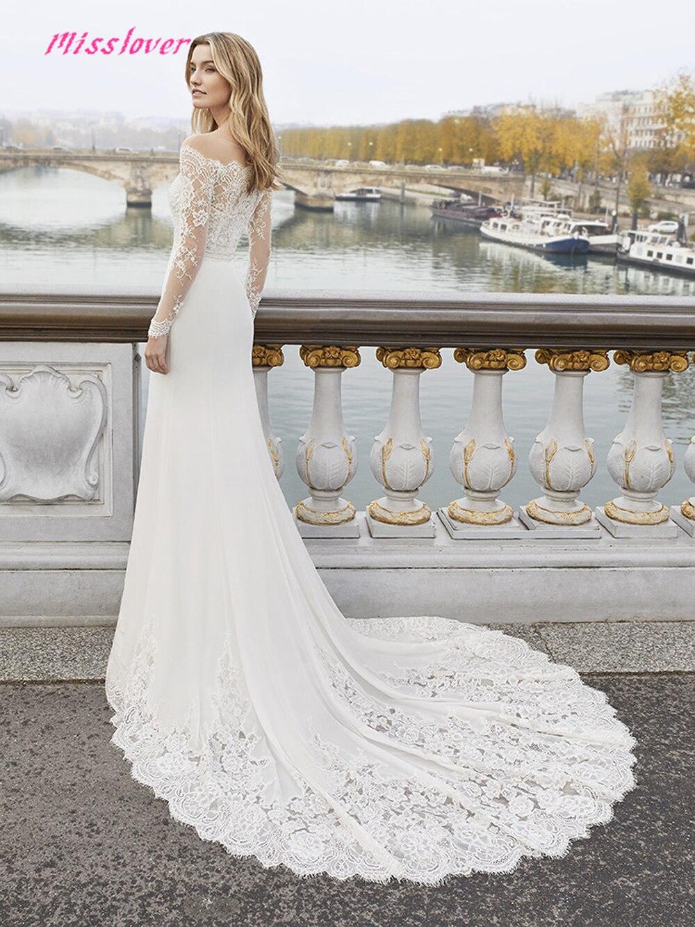 ef1d8c8828 Vestido de noiva sexy Illusion Mermaid Wedding Dress Luxury lace 2019 new  Bridal Gown Bride Dress Court Train Robe de mariee ~ Top Deal July 2019