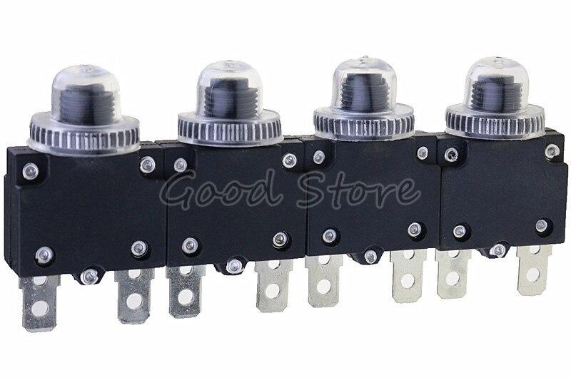 1 шт. автоматический выключатель MR1 3A,4A,5A,6A ,7A,8A,10A,15A,16A,18A,20A,25A ,30A, термопереключатель, защита от перегрузки, кнопка и крышка