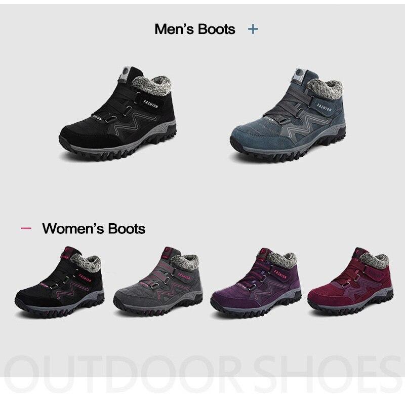 HTB1QXdoaOzxK1RkSnaVq6xn9VXaO - Brand Men Snow Boots Plus Size 45 New Men Boots with Fur Unisex Winter Snow Botas Warm Plush Shoes High Top Boots Autumn