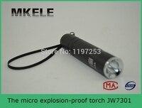 High Quality JW7301 Micro Explosion Proof Torch Mini Led Flashlight Keychain