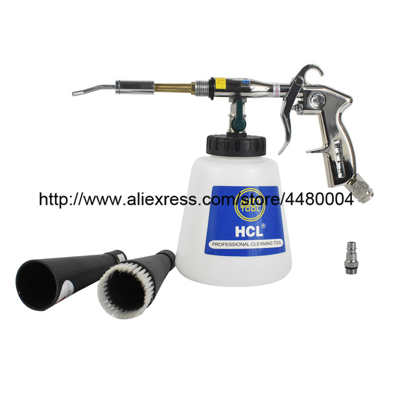 Silver Car Air Pressure Gun Cleaner Washer Tool Machinery Aluminum Alloy Latest