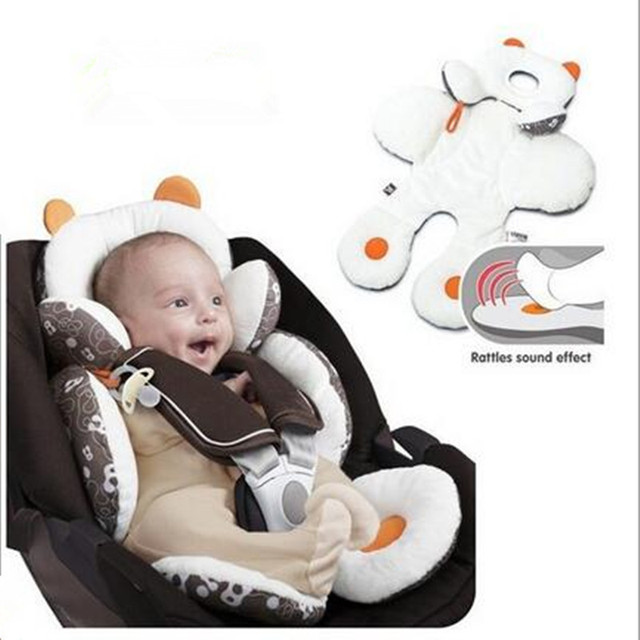 Head and Body Support Cushion for Babies | Designed for Car Seats and Strollers