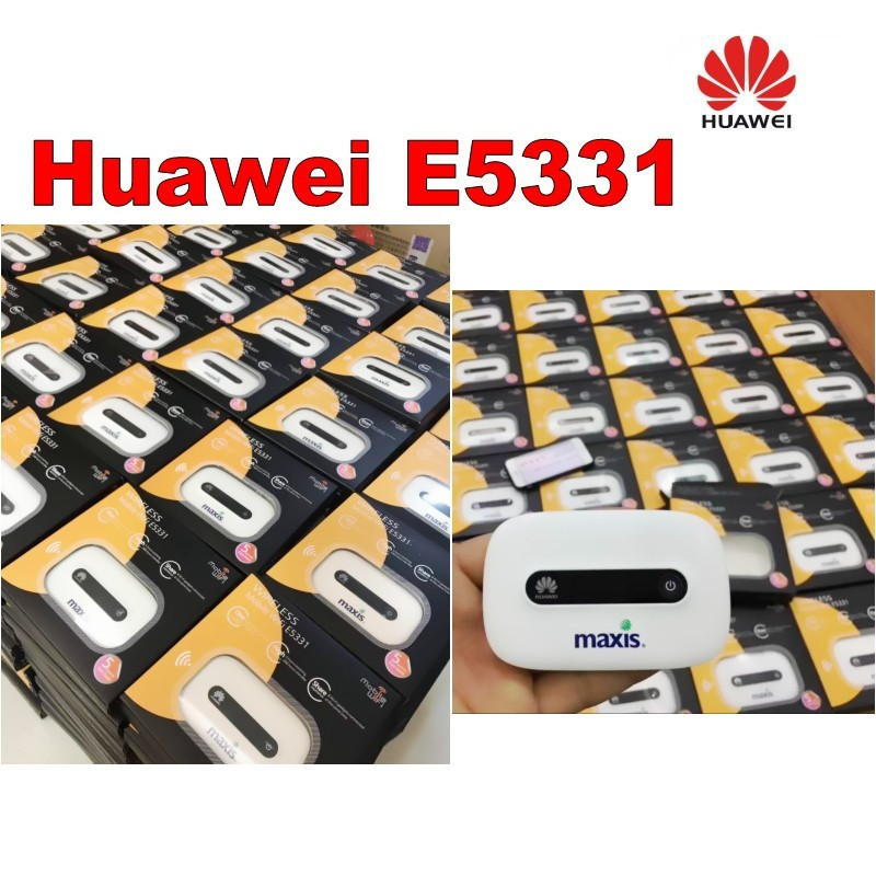 Lot of 100pcs Original Huawei E5331 21M Mifi Hotspot router