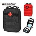 REEBOW Única Bolsa Molle TÁCTICO de Primeros Auxilios Médico EMT IFAK Pouch Utilidad Militar de Emergencia Al Aire Libre Paquete de Viaje Al Aire Libre de Caza