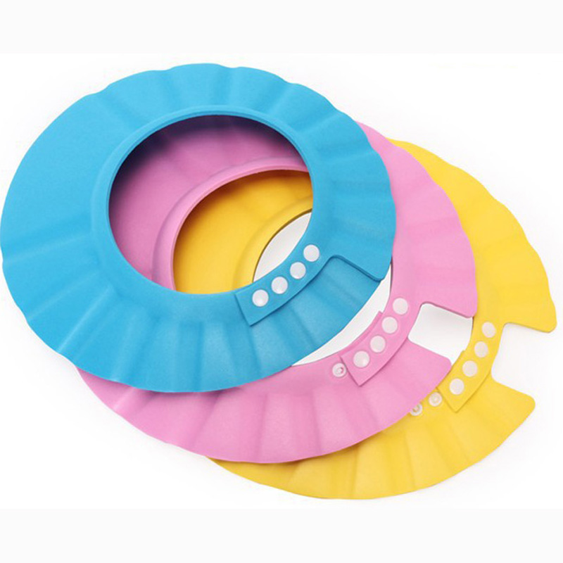 Resizing Baby Shampoo Caps Bathing Hats dc2e1c8990a