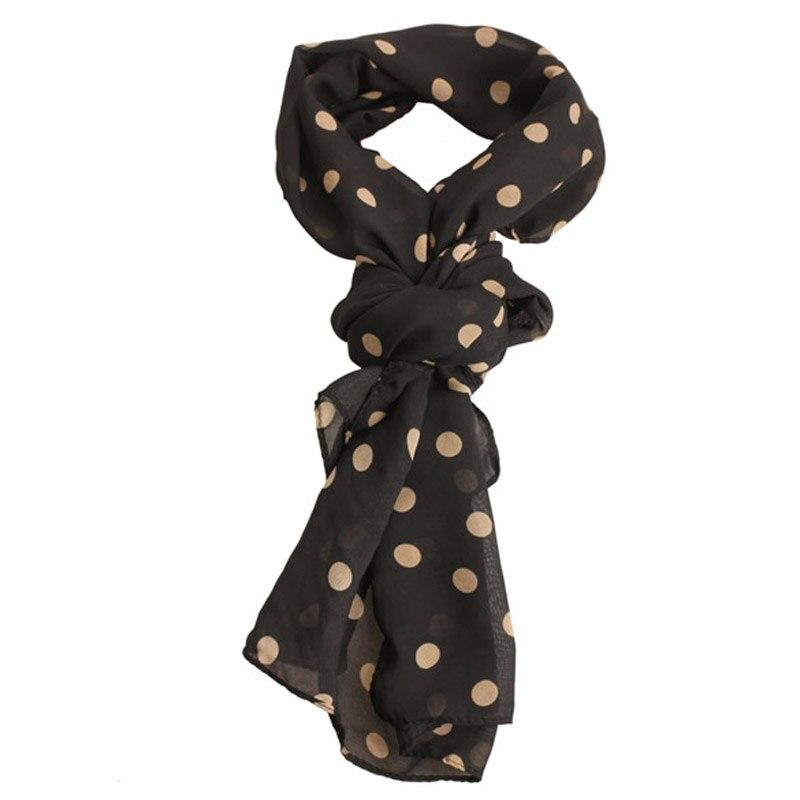 Aliexpress.com : Buy Fashion Women Female Chiffon Polka ...