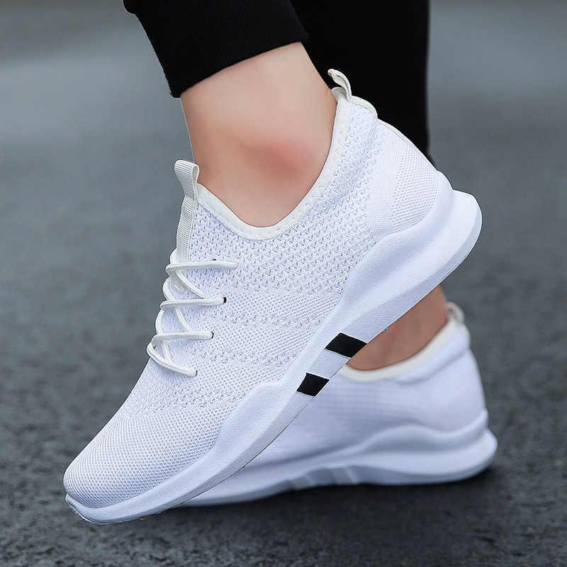 Четыре сезона легкая дышащая повседневная обувь для взрослых модная обувь Hombre Zapatillas de deporte удобная мужская обувь