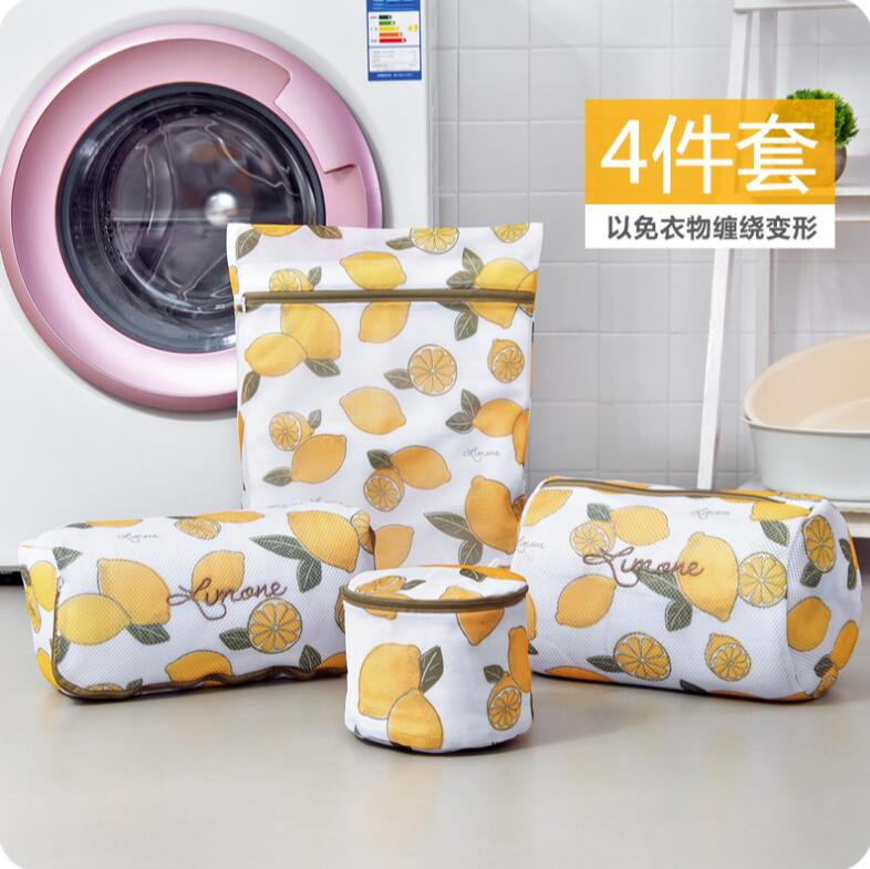 Household Wash Care Bag Set 4 PCS/Lot Laundry Bags For Washing Machines Bra Underwear Mesh Laundry Bag Washing Bags For Clothes