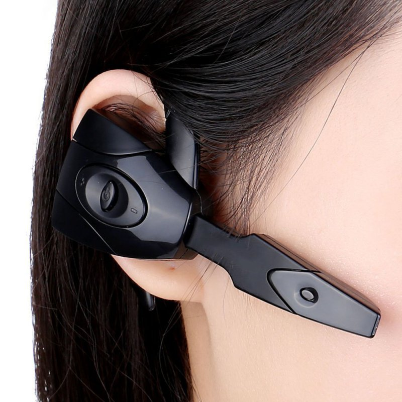 KKMOON EX-01 In-ear Wireless Mono Bluetooth Gaming Headset Headphones Earphone Handsfree with Mic for PS3 Smartphone Tablet PC  black stereo in ear wireless bluetooth gaming headset headphones earphone handsfree with mic for ps3 smartphone tablet pc