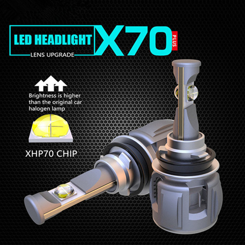 INLONG With Original Xhp70 Mini H7 LED H4 15600LM D4S H1 H8 H11 9005 D3S 9006 HB4 D1S Car Headlight Bulbs 6000K  Fog Lights  12V-in Car Headlight Bulbs(LED) from Automobiles & Motorcycles    2