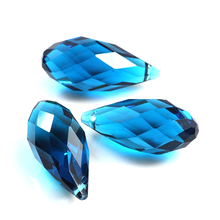 top quality 100pcs Crystal Glass Tear Drop Beads Plating AB Colors 10x20mm Fit Fashion Jewelry Necklace Bracelet For DIY