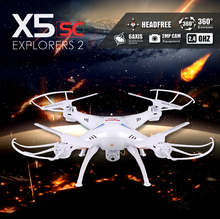 Syma X5SC 2.4G 4CH 6-Axis RC Quadcopter Helicopter RC Dron Professional Drones With Camera VS X6SW X5SW MJX X600 JJRC H20