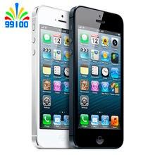 Used Apple iPhone 5 Unlocked Mobile Phone iOS Dual-core 4.0″ screen 8MP Camera WIFI GPS 16GB/32GB/64GB for option