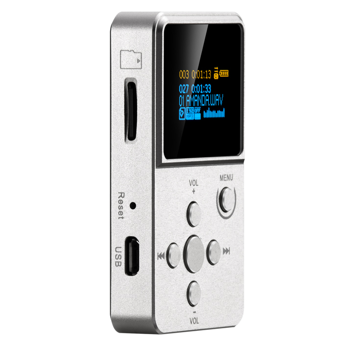 2016 New XDUOO X2 Professional MP3 HIFI Music Player with OLED Screen * Support MP3 WMA APE FLAC WAV format купить недорого в Москве