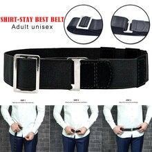 Shirt Holder Adjustable Near Stay Best Tuck It Belt for Women Men Work Interview MC889