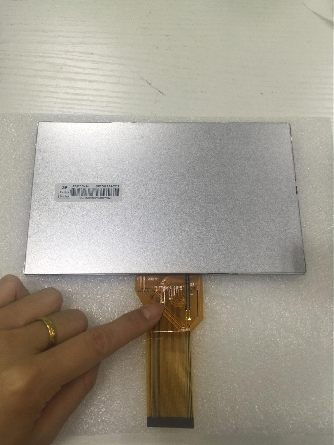 Innolux 7 inch original bright LCD screen with touch AT070TN94, can tax the shipment! original free shippat056tn52 v 3 innolux lcd screen 5 6 inch 4 3 original properties of the new regulation a digital screen