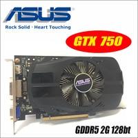 Asus GTX 750 FML 2GD5 GTX750 GTX 750 2G D5 DDR5 128 Bit PC Desktop Graphics
