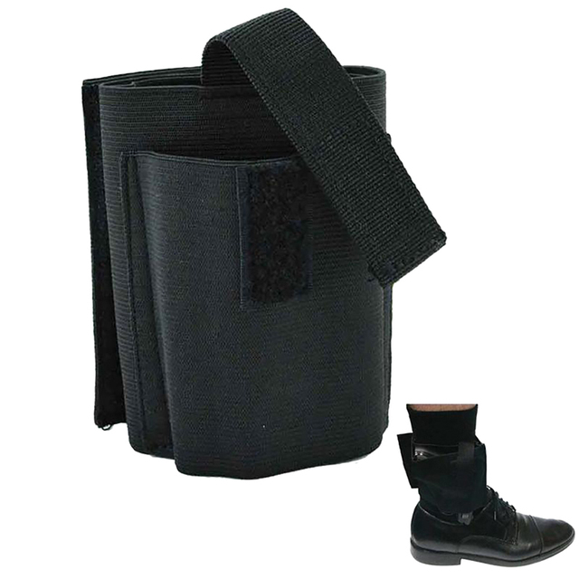 Universal Adjustable Concealed Tactical Black for Carry Ankle Leg Pistol Gun Holster Hunting EDC Tactical Leg Ankle Holster  5