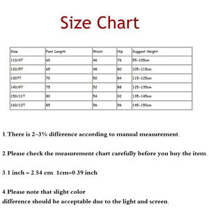 Image 5 - Casual Kids Girls Cargo Pants Pure Color Summer Cool Trousers Pocket Loose Pant for Teen Girl 4t 8 12y Children Clothing Spring