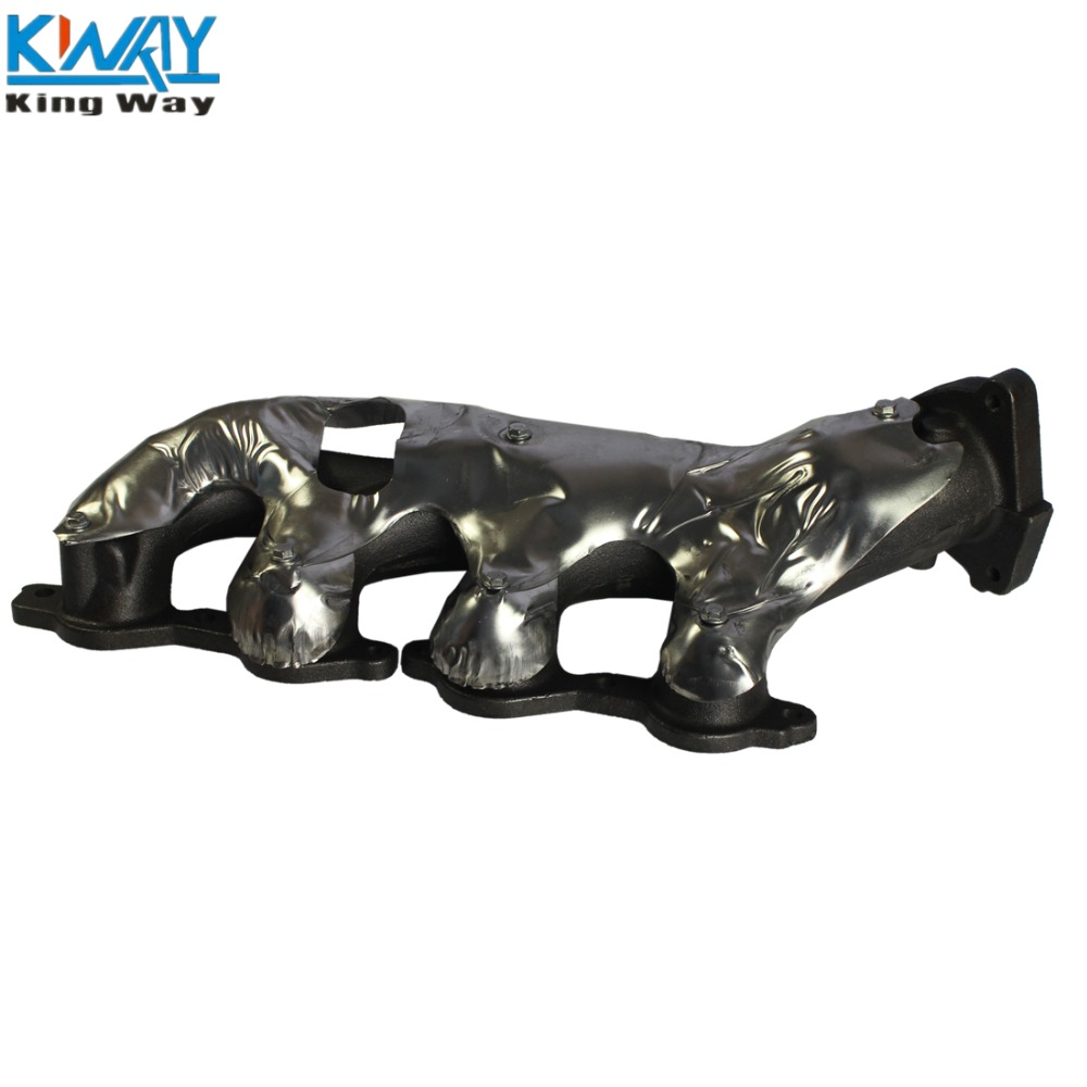 Free shipping king way new right exhaust manifold for 2003 2014 silverado 1500 sierra yukon hummer h2 in turbo chargers parts from automobiles