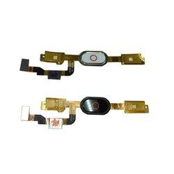 Linii papilarnych palec czujnik dotykowy klawiatura powrotu do domu przycisk Menu odblokować Flex Cable dla ZTE Nubia M2 NX551J NX551J