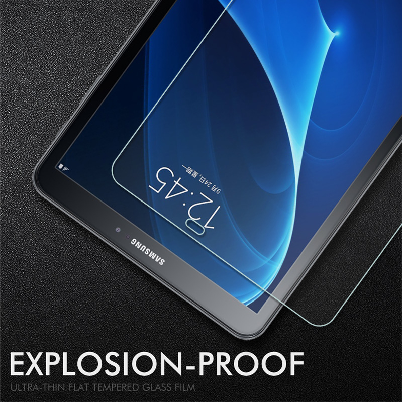 Tempered Glass For Samsung Galaxy Tab A 10.1 A6 2016 T580 T585 T295 P205 P580 2019 Screen Protector SM S5e 10.5 T720 Glass Film