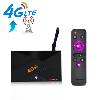 4G Lte Android Tv Box Android 7.1 RK3229 1GB DDR3 8GB EMMC Smart Set Top Box 2.4G WiFi Antenna 4k H.265 4G Micro SIM Card Router