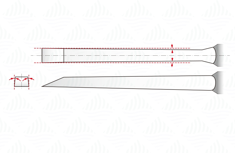 Carpenter  Chisel Duty 12mm  NAREX Chisel Pack 10 Value 4 Set 6 Heavy 4pcs