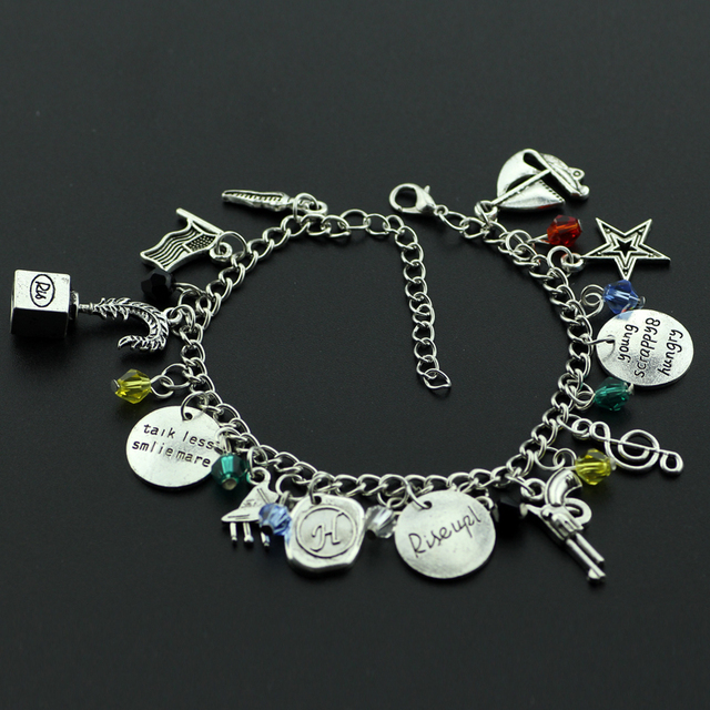 Ha Milton Charm Bracelet Broadway Musical Rise Up With Star Gun