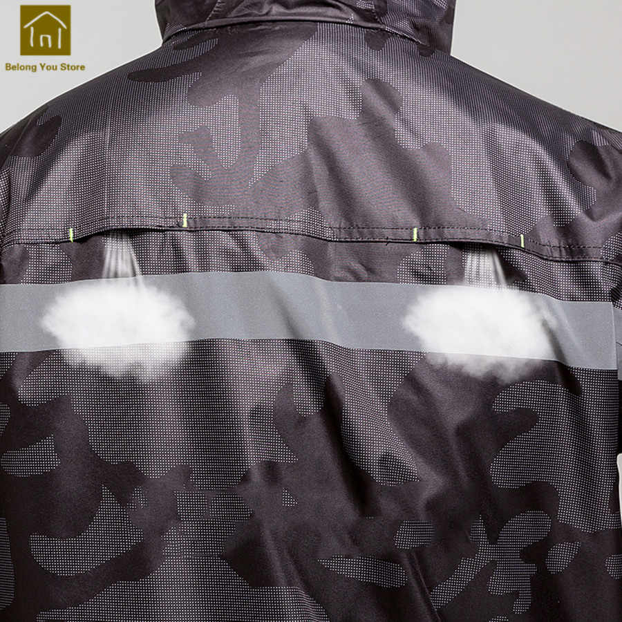 232072997 ... Waterproof Raincoat Motorcycle Rain Suit Fishing Clothes Ladies Bicycle  Raincoat Women Camping Rain Poncho Military Men