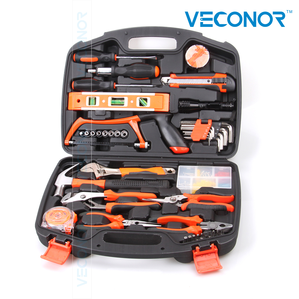 106pcs hand tool set kit household tool kit saw screwdriver hammer tape measure wrench plier 55pcs hand tool set kit household tool kit saw screwdriver hammer tape measure wrench plier