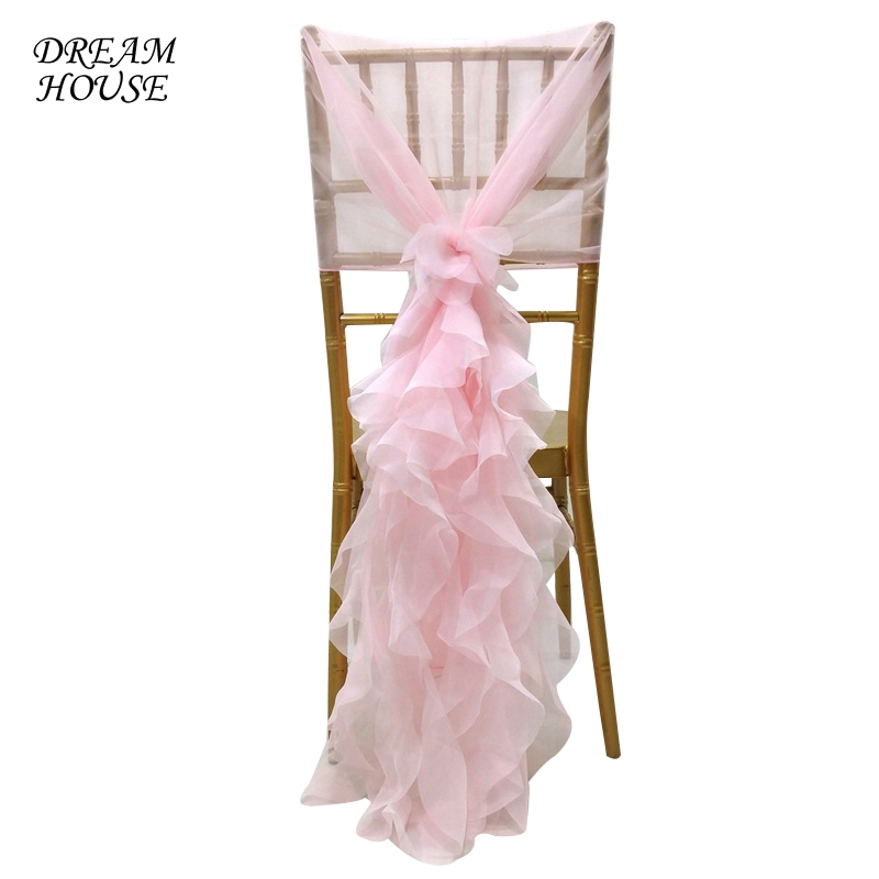 1pc Chair Sash Chair Sashes For Tulle Weddings Events