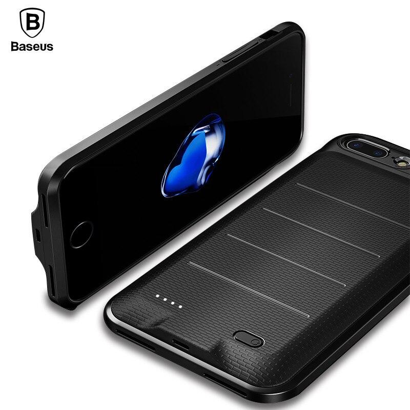 Baseus Batterie Chargeur Cas Pour iPhone 7 6 6 s Plus 2500/3650 mAh Banque D'alimentation De Secours De Charge Cas externe Powerbank Couverture Cas